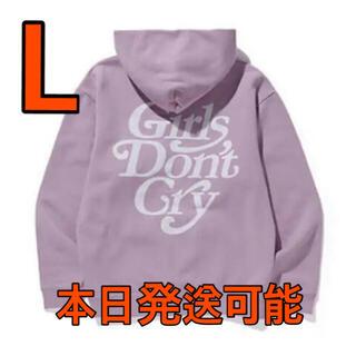 ジーディーシー(GDC)のgirls don't cry ガールズドントクライ GDC パープル パーカー(パーカー)
