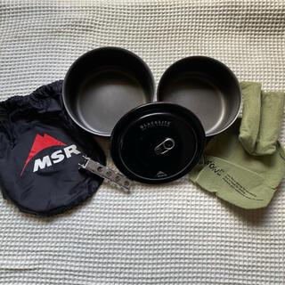 エムエスアール(MSR)のMSR BLACKLITE ブラックライト クックセット(調理器具)