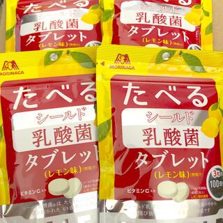 森永製菓 - シールド乳酸菌タブレット レモン味 4袋