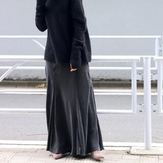 Plage - Plage Fibril ギャザーロングスカート