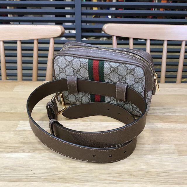 Gucci(グッチ)の新品未使用 グッチ GGスプリーム オフィディア スモールベルトバッグ メンズのバッグ(ウエストポーチ)の商品写真