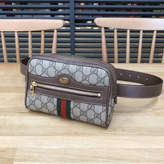 Gucci - 新品未使用 グッチ GGスプリーム オフィディア スモールベルトバッグ