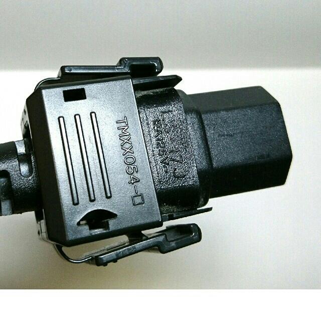 Panasonic(パナソニック)のPanasonic プラズマテレビ 電源コード  スマホ/家電/カメラのテレビ/映像機器(テレビ)の商品写真