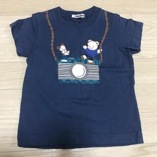 familiar - ファミリアTシャツ  100size