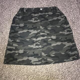 ジーユー(GU)のスカート 150 迷彩 GU(スカート)