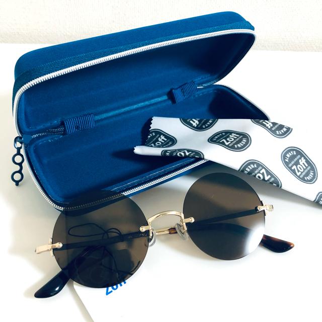 Zoff(ゾフ)のzoff サングラス ゾフ メンズ レディース ユニセックス メンズのファッション小物(サングラス/メガネ)の商品写真