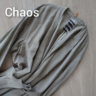 Chaos アウター コート カーキ