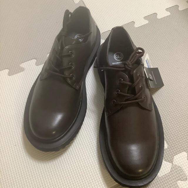 UNDERCOVER(アンダーカバー)のGU アンダーカバー ラウンドトゥシューズ 26cm 新品未使用 ダークブラウン メンズの靴/シューズ(ドレス/ビジネス)の商品写真