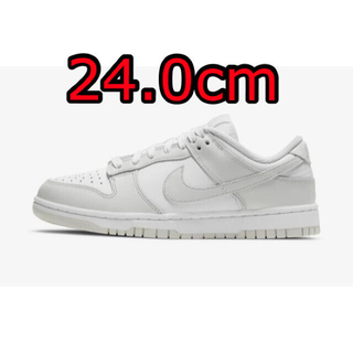 NIKE - NIKE WMNS DUNK LOW PHOTON DUST ダンク 24cm
