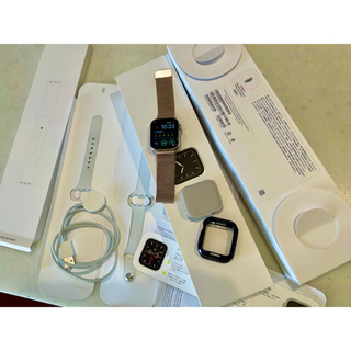 Apple Watch - Apple Watch 5 ステンレス 40ミリ セルラー アップルウォッチ