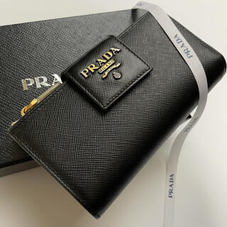 PRADA - 【美品】280 PRADA プラダ 2つ折り長財布