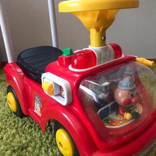アンパンマン(アンパンマン)のアンパンマン 乗用玩具 じゃかじゃか消防車(手押し車/カタカタ)
