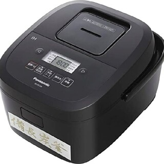 Panasonic - パナソニック 炊飯器 sr-fe109 k 黒 ih 備長炭釜 未使用 5.5