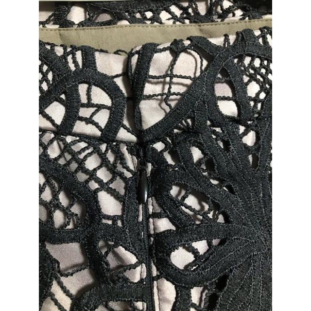 JUSGLITTY(ジャスグリッティー)のレースロングタイトスカート  JUSGLITY レディースのスカート(ロングスカート)の商品写真