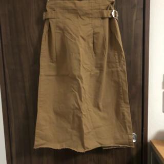 アズノゥアズピンキー(AS KNOW AS PINKY)のタイトロングスカート(ひざ丈スカート)