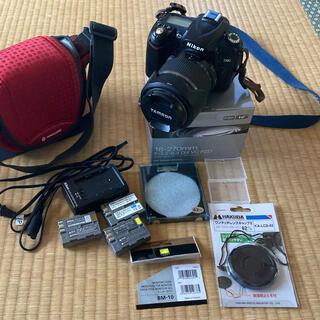 ニコン(Nikon)の美品 Nikon D90 TAMRON 18-270 B008STN 付属品多数(デジタル一眼)