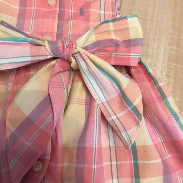 Ralph Lauren(ラルフローレン)のmegu様専用 Ralph Lauren 12M ワンピース キッズ/ベビー/マタニティのベビー服(~85cm)(ワンピース)の商品写真