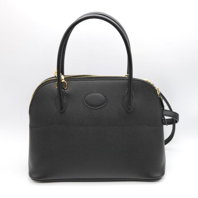 Hermes(エルメス)の【美品】 エルメス C刻印 ボリード 27 黒 ゴールド エプソン ノアール レディースのバッグ(ハンドバッグ)の商品写真