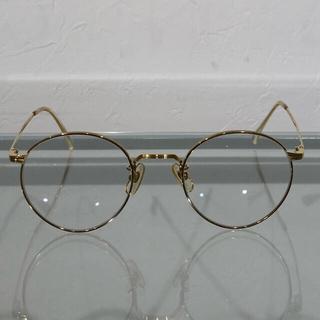 Ayame - 白山眼鏡 絶版ユニセックス メタルボストン伊達眼鏡