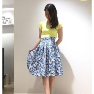 アンドクチュール(And Couture)の新品❤️And Couture 小花柄スカート(ひざ丈スカート)