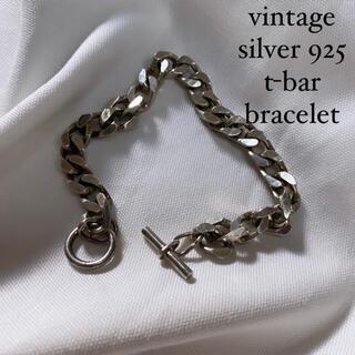 DEPT - vintage silver t-bar bracelet unisex