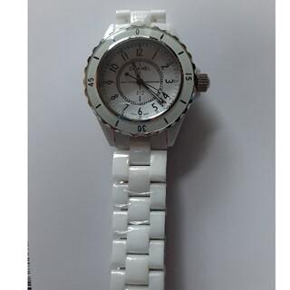 新品未使用 ホワイト 腕時計 メンズ 検索 J12