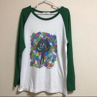 Ne-net - Ne-net  ネネット にゃー Tシャツ ロンT
