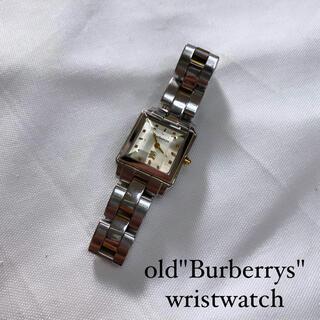 BURBERRY - 〜90s vintage burberrys wristwatch 腕時計