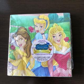 ディズニー(Disney)のディズニープリンセス 紙ナフキン(テーブル用品)
