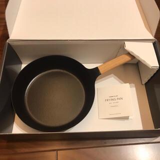バーミキュラ(Vermicular)の新品!バーミキュラフライパンと蓋セット24cm(鍋/フライパン)