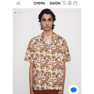 CMMN SWDN 21SS 新作シャツ