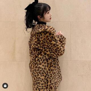 Aymmy in the batty girls - dearsisterhood 瀬戸あゆみ レオパード ファーコート