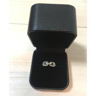 カオル(KAORU)のKAORU K10ダイヤモンドリング(リング(指輪))