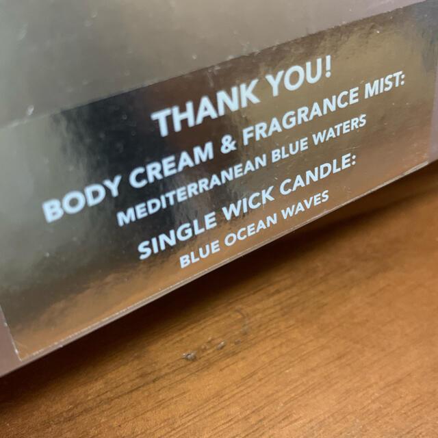 "Bath & Body Works(バスアンドボディーワークス)のバスアンドボディワークス ボディケア&キャンドルギフト""THANK YOU"" コスメ/美容のリラクゼーション(キャンドル)の商品写真"