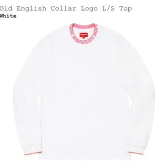 Supreme - Supreme Old English Collar Logo L/S Top