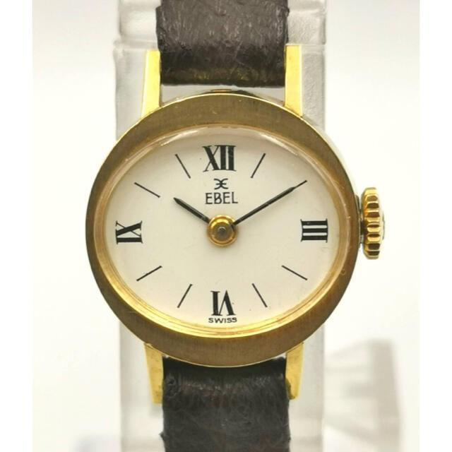 EBEL(エベル)のEBEL  エベル K18YG  オーバル 時計 レディースのファッション小物(腕時計)の商品写真