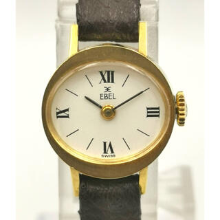 EBEL  エベル K18YG  オーバル 時計
