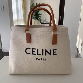 CeLIne トートバッグ ホリゾンタル ロゴプリント