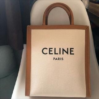 CeLIne バーティカルキャンバスバッグ ナチュラル