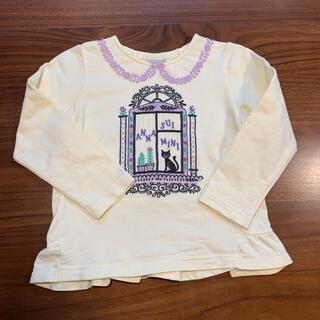 ANNA SUI mini - アナスイミニ カットソー Tシャツ 美品