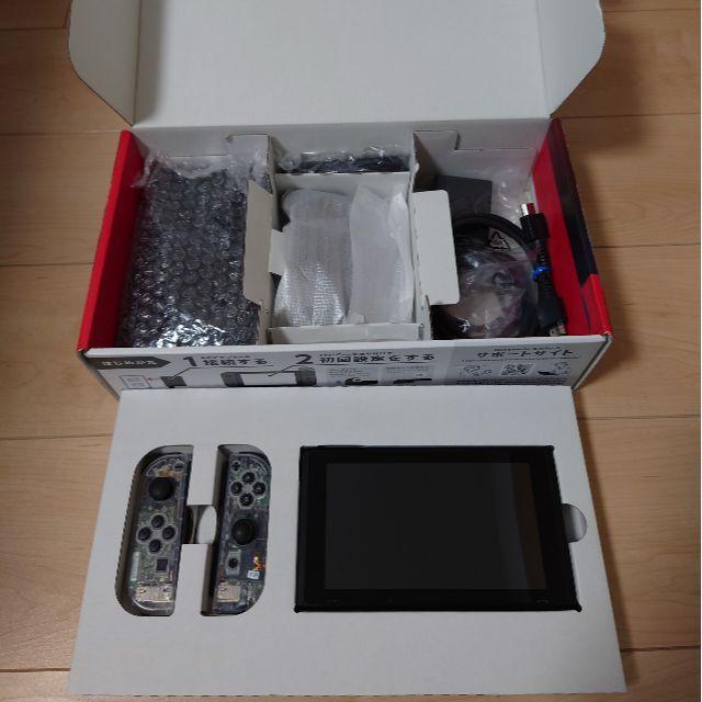 Nintendo Switch(ニンテンドースイッチ)の任天堂switch 新型 エンタメ/ホビーのゲームソフト/ゲーム機本体(家庭用ゲーム機本体)の商品写真