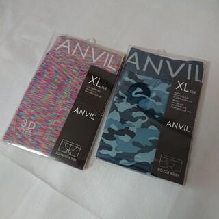 アンビル(Anvil)の🌺アンビル ANVIL メンズパンツ XL 2枚セット(ボクサーパンツ)
