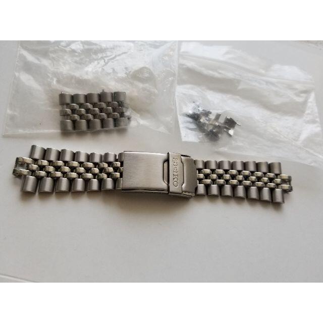 SEIKO(セイコー)のSKX007 SEIKO 純正 ステンレス ブレス SKX009  メンズの時計(金属ベルト)の商品写真