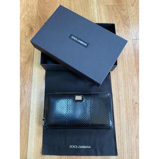 ドルチェアンドガッバーナ(DOLCE&GABBANA)のDOLCE&GABBANA 財布(長財布)