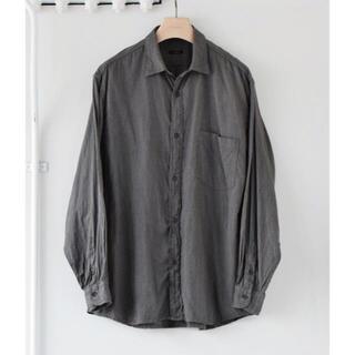 COMOLI - comoli 21ss ヨリ杢シャツ 新品未使用タグ付き size2