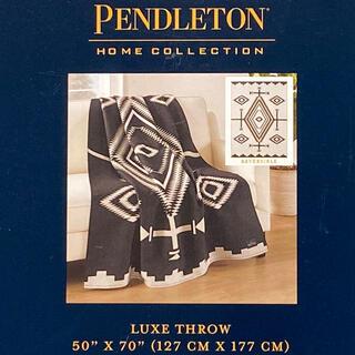 ペンドルトン(PENDLETON)のPENDLETON ブランケット 膝掛け リバーシブル(寝袋/寝具)
