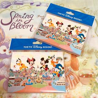 Disney - 【再販】ディズニーリゾート*メモ 2個セット*カレンダー イラスト