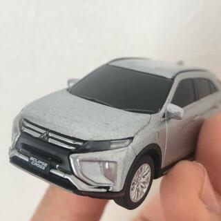ミツビシ(三菱)の三菱ミニカー ECLIPSE CROSS ライト付き(ミニカー)