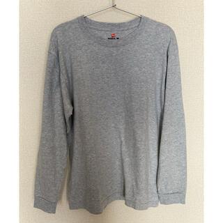 ヘインズ(Hanes)の[ヘインズ] ビーフィー ロングスリーブ Tシャツ(Tシャツ/カットソー(七分/長袖))