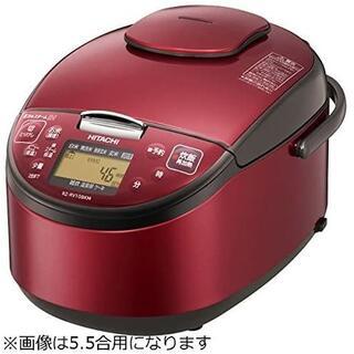 ヒタチ(日立)の日立 圧力&スチーム RZ-RV18BKM-R(炊飯器)